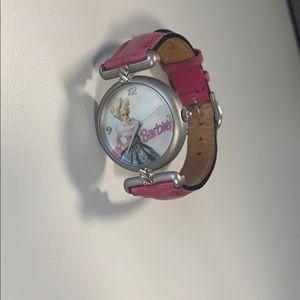 Vintage 1995 Barbie Starlit Waltz Leather Watch